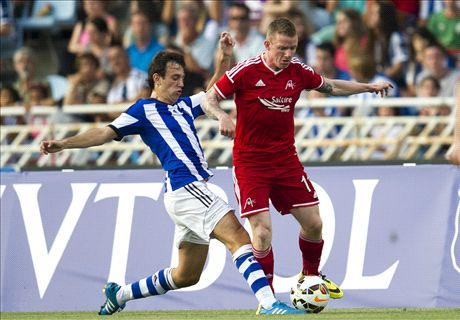 Europa League: R. Sociedad 2-0 Aberdeen