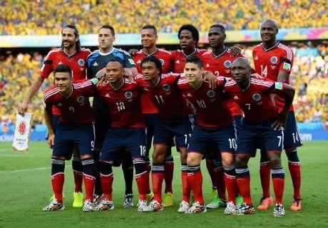 Bajas de Colombia para enfrentar a Brasil