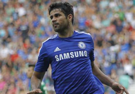 Costa nets solo goal in friendly