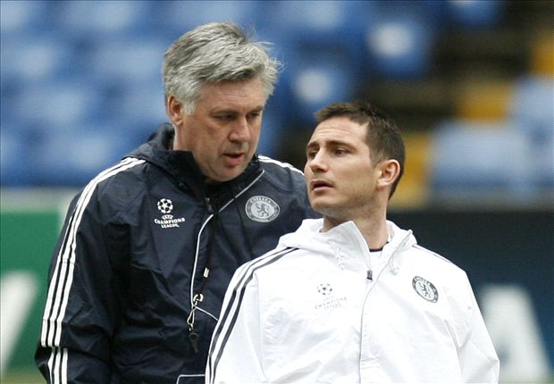 Ancelotti: Lampard would be a top signing for Man City