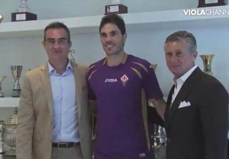 La Fiorentina presenta a Basanta