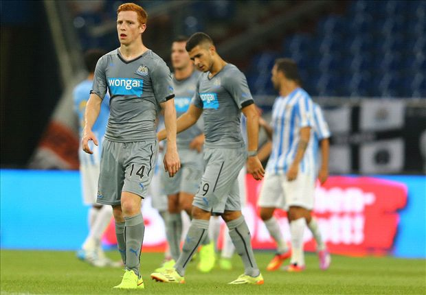 Malaga 3-1 Newcastle United: Cabella makes debut but Magpies soundly beaten