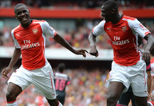 Campbell and Sanogo make their case as Arsenal's speed demons run riot