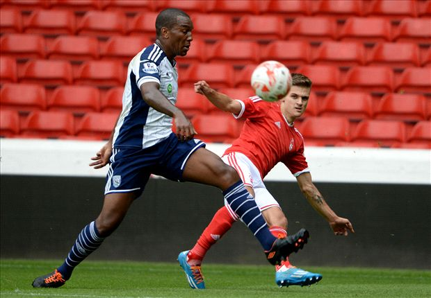 Nottingham Forest 1-0 West Brom: Lescott injured in defeat