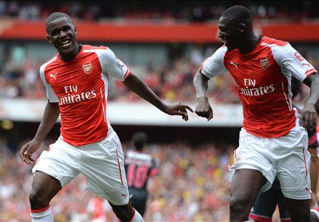 Leicester-Arsenal, Sanogo titulaire