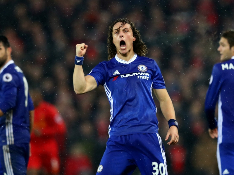 'Chelsea are top of the table for a reason' - David Luiz in defiant message to Tottenham