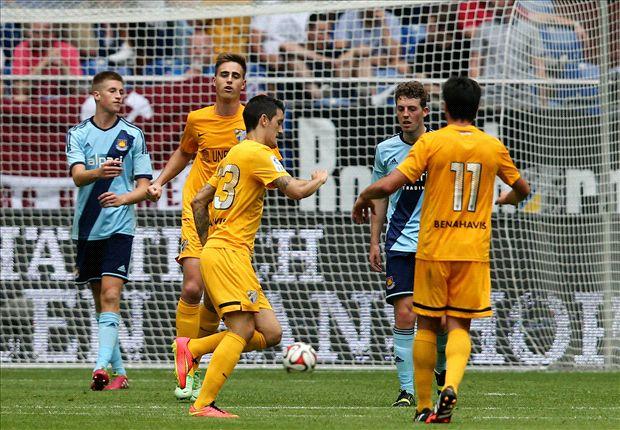 Malaga 2-0 West Ham: Quickfire double sinks Hammers