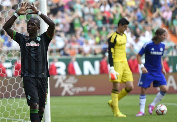 Chelsea boss Mourinho blames referee for Werder Bremen 'circus'