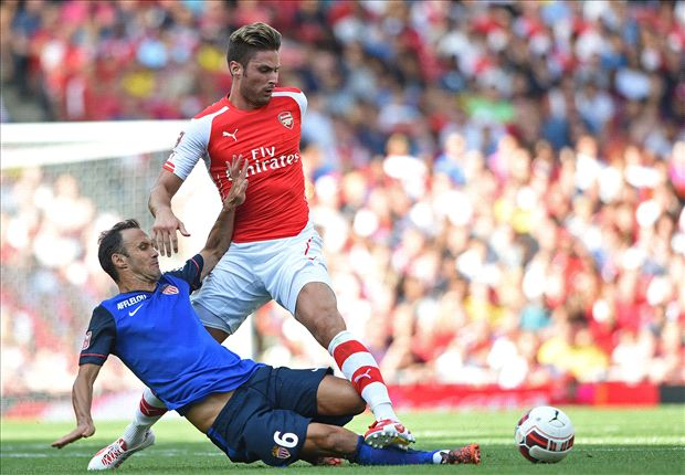 Wenger unconcerned by Giroud fitness