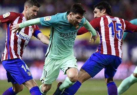 LIVE: Barcelona vs Atletico Madrid