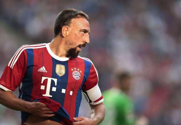 Franck Ribery auf dem Weg zur Topform