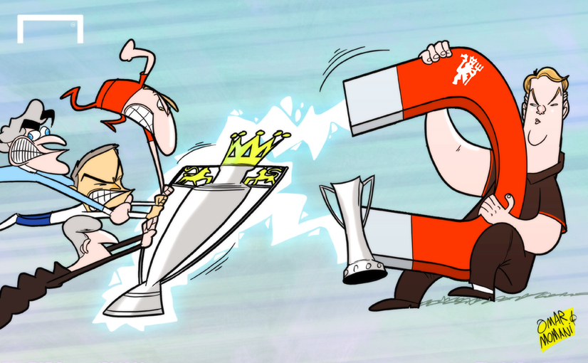 Premier League Cartoons on Premier League Title