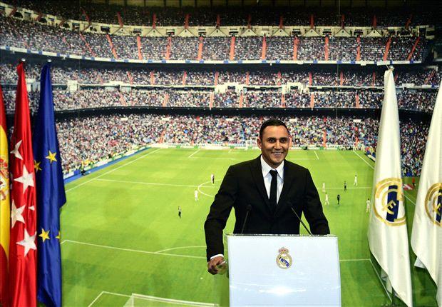 Keylor Navas, nuevo portero del Real Madrid