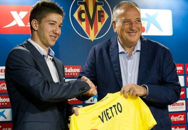 Luciano Vietto fue presentado en Villarreal