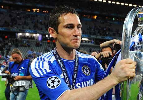 Lampard's list of greatest team-mates