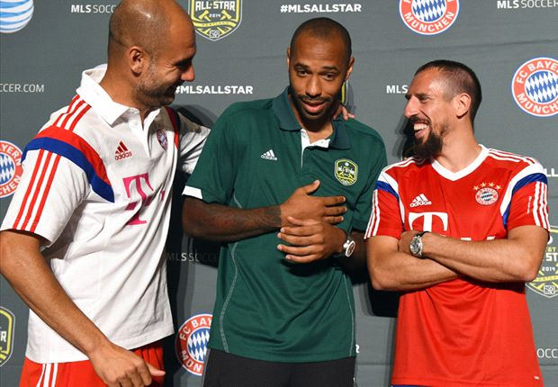 Henry enjoying himself at potentially final MLS All-Star week