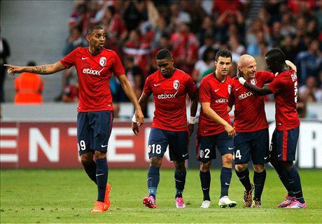 Champions League: Lille advance