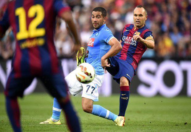 Momento durante el partido que enfrentaba a ambos equipos