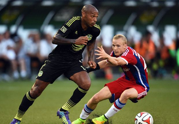 MLS All-Star 2:1 Bayern Monachium