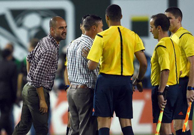 Guardiola blames rival coach Porter for tough MLS All-Star tackling