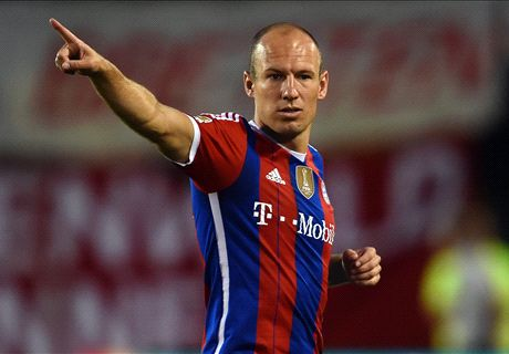 Robben: Bayern best I ever played for