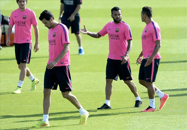 Dani Alves is a Barcelona player 'for now' - Enrique