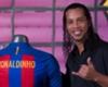 Cute Barcelona fans give Ronaldinho hilarious handshakes