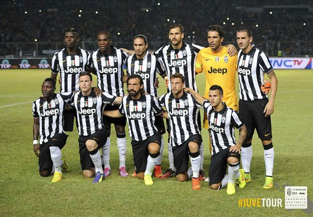Are you ready Singapore? The cry from eight-goal Juventus
