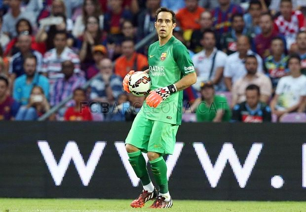 Bravo confident of becoming Barcelona's No.1