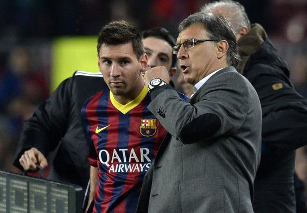 Coaching Messi can seem a thankless task - Martino