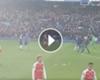 Özil le gritó a Alexis tras la goleada en contra ►