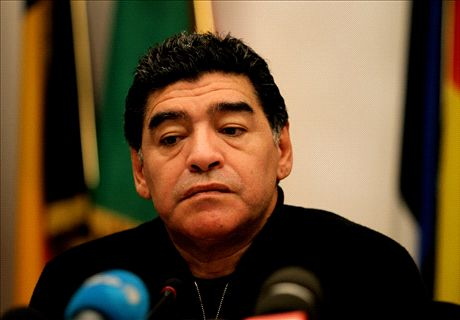 Maradona: I won't back Fifa corruption