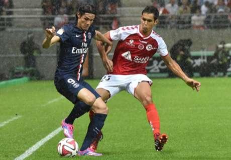 Ligue 1: Reims 2-2 PSG