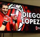 Lopez & Armero in Milan for medicals