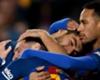 La 'MSN' celebra el triunfo ante el Real Madrid