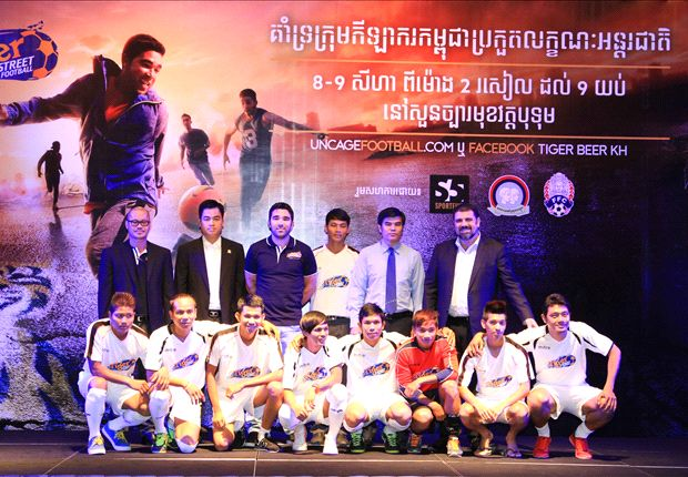 Tiger Street Football all set to go in Cambodia
