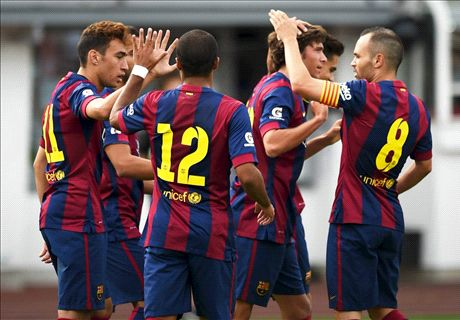 Match Report: HJK 0-6 Barcelona
