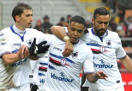 Muriel shines against 10-man Milan