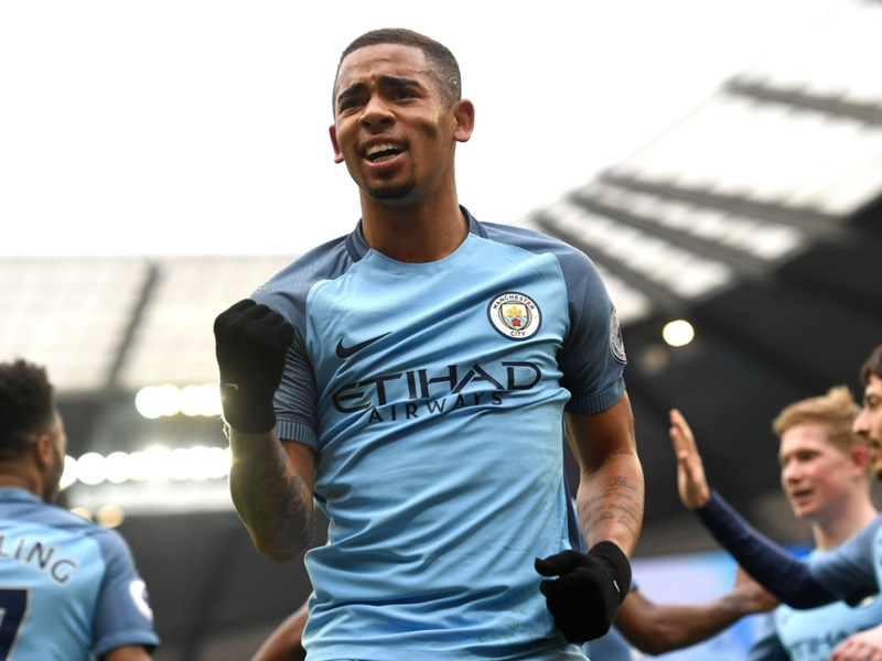 Manchester City boss Guardiola offers positive update on Gabriel Jesus