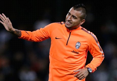 Juve receive Vidal injury boost