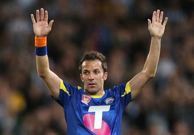 What we learned from the All Stars 2-3 Juventus: Del Piero's still got it