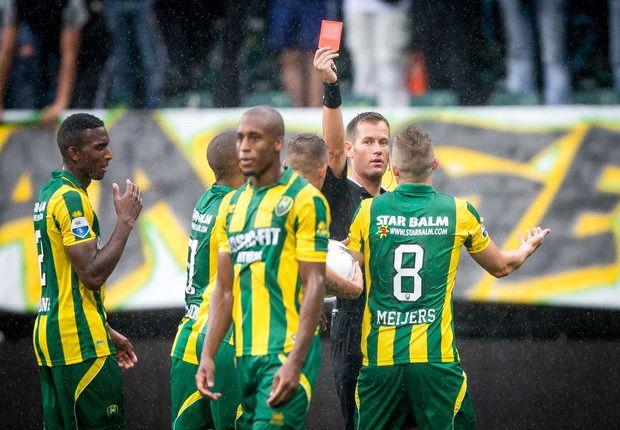 Feyenoord wint in slotminuut van ADO Den Haag