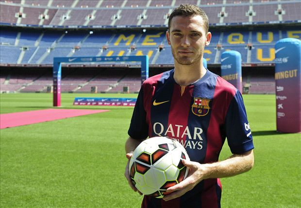 Blow for Barcelona as Vermaelen is sidelined with hamstring injury
