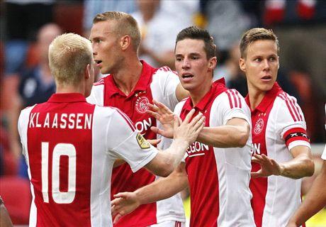 REVIEW Eredivisie: Ajax & PSV Awali Musim Dengan Kemenangan