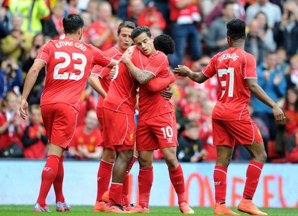 Gegen Dortmund klappte es im Angriffspiel Liverpools schon ganz gut