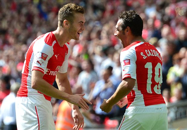 Sterk Arsenal pakt Community Shield tegen Manchester City