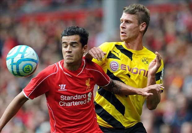 Liverpool 4-0 Borussia Dortmund: Lovren gets debut goal as Coutinho stars in rout
