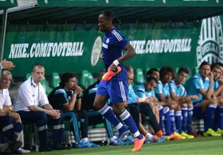 Drogba limps out of Chelsea friendly