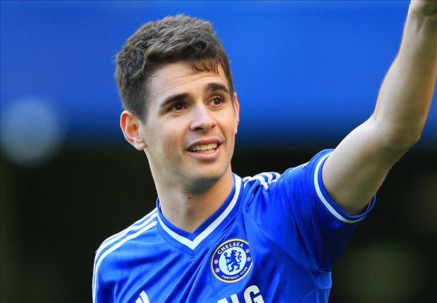 Oscar takes Lampard's No.8 shirt & Hazard No.10 as Chelsea reveal new squad numbers