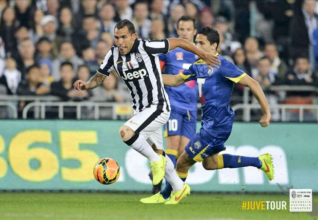 Goal-hungry Juventus head to Singapore in buoyant mood